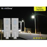 Buy cheap IP65 Solar Powered LED Street Lights With PIR Sensor 50000 Hours Long Lifespan from wholesalers