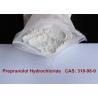 China Антихыпертенсиве/антиангинальный/противоаритмический хлоргидрат пропранолола фармацевтических продуктов wholesale