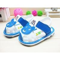 China Kids high quality 0-1 year-old baby shoes boy's/girl's heel sandals summer cool little baby shoes wholesale