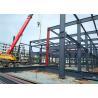 China Modern Prefabricated Steel Buildings , H Section Premade Metal Buildings wholesale