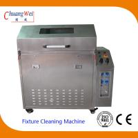 China Wave Solder SMT Cleaning Equipment Pallet Washer Machine with 3 Levels Filter System wholesale