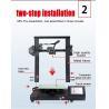 Buy cheap High Quality Desktop FDM S-20 3d Printer Home Color 3d Printer from wholesalers