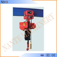 China 5 Ton / 15 Ton Manual / Electric Chain Hoist Suspended Type 3m - 130m wholesale