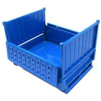 Foldable Warehouse Steel Wire Mesh Container Box