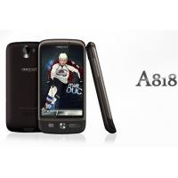 China 3.5 inch Capacitive GSM+3G WCDMA dual sim unlocked quad band mobile phone A818 on sale