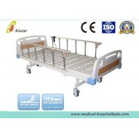 China Flalt ABS Head Hospital Electric Bed With Aluminum Alloy Guardrail 2150*950*550mm (ALS-E201) wholesale