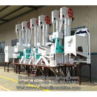 China high quality automatic complete set 40-50tpd rice mill machine for rice processing on sale