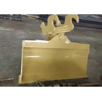 China Special ears Tilt Bucket for Cat pillar 312 excavator with Mechanical Quick Coupler wholesale