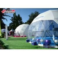 Buy cheap Transparent 6 Meters Geodetic Dome Tents for Outdoor Activities from wholesalers