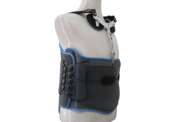 Quality XL XXL XXXL Back Spine Brace Adjustable With Dual Lateral Pulley System for sale