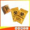China El transporte del espécimen del Biohazard del laboratorio empaqueta color reconectable del amarillo de 3/4 capa wholesale