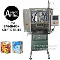 China BIB Aseptic Filler Sterile Products Bag in Box Aseptic Filling Machine on sale