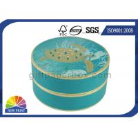 China Personalized Luxury Cylindrical Rigid Gift Boxes Round Cardboard Boxes for Gift Packs wholesale