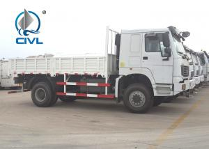 China 4X2 New Heavy LHD 290HP Commercial Truck And Van With 5600*2300*600mm Body Cargo wholesale