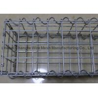 China Rust Proof Galfan Coated Wire Gabion Baskets , Welded Stone Filled Gabions wholesale