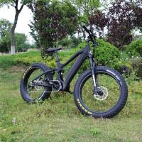 China 5kw E Fat Bike , 26 Inch Fat Tire Electric Bike With Shimano Shifter And Velo Saddle wholesale