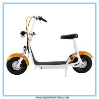 China Portable small harley motorcycle electric 800W motor CE Approved citycoco scooter wholesale