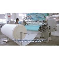 China 64 Inches Garment Quilting Machine , Industrial High Speed Multineedle Quilting Machine wholesale