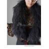 China Women's Sheepskin Sheep Fur Shawl Fur Cape Fur Wrap Fur Tippet Fur Amice Fur Robe Z45 wholesale