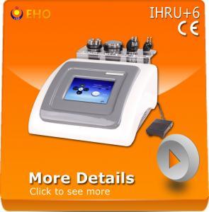 China IHRU+6 multifunctional rf cavitation vacuum machine wholesale