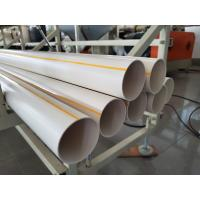 China PVC Water Pipe Making Machine , PVC Pipe Production Line , New Design wholesale