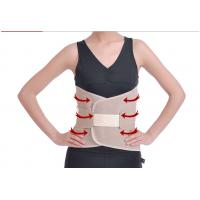 China Brown Gray Color Protection Lumbosacral Support Belt Breathable Powerful wholesale