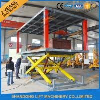 China Hydraulic Electric Type Portable Fixed In Ground Car Lift For Parking With CE wholesale