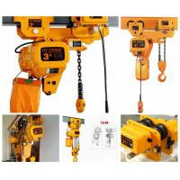 China Different Capacity 0.5-20Tons Chain Hoist Electric Chain Hoist wholesale