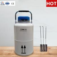 China TianChi 3L Portable Liquid Nitrogen Tank YDS-3-50 Stainless Steel Storage Container Quotation on sale