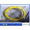 China Comprimento amarelo de Rod 200M do canal da fibra de vidro do diâmetro 10MM para o traçado do cabo wholesale