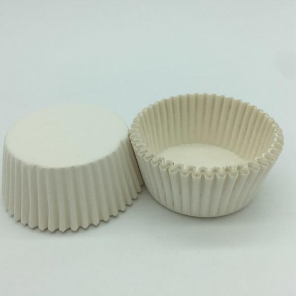 Quality Custom White Greaseproof Cupcake LinersRound Shape Blueberry Muffin Cup for sale