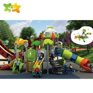 China Plastic Public Park Outdoor Slide Children Outdoor Playground Equipment on sale