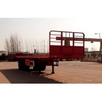 China CLWGold ridge 12 meters 34 tons axle flatbed semi-trailer LTY9400TPB 30086-18672 on sale