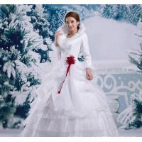 Buy cheap Tiger winter wedding winter 2015 new winter models thick fur collar long-sleeved from wholesalers