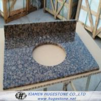 China Dark Brown Granite Sink Countertops, Granite Countertops with built in Sinks wholesale
