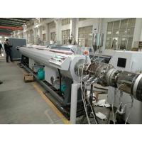 China SJZ Series Conic Dual Screw Extruder PVC Drain Water Pipe Extrusion Machine wholesale