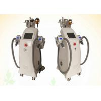 China Radio Frequency Ultrasound Cavittaion Cryo Sculpting Love Handles Fat Reduction Machine on sale