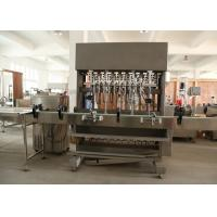 China Full Automatic Paste Filling Machine For Food , Cosmetic , Oil , Syrup , Chili Sauce wholesale