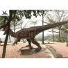 China Giant Dilophosaurus Model Outdoor Dinosaur Yard Art Customize Color / Size wholesale