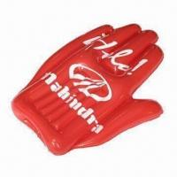 China Promotional PVC Inflatable Cheering Hand wholesale