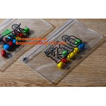 China OEM cheap price plastic clear zipper school pencil case bag wholesale