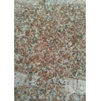 China Kerbstone Polished Granite Tiles G363 G3763 Red Color For Flooring / Paving on sale