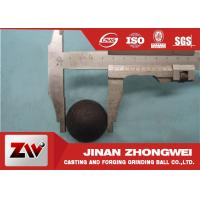 China Professional Dia20-40mm Hot Rolling Steel Balls Good wear resistance on sale