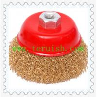 China Crimped Wire Cup Brushes TR108 wholesale