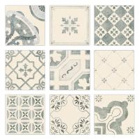 China Fashion Patterned Concrete Kitchen Wall Cladding Tiles Hot Bordered 20x20cm wholesale
