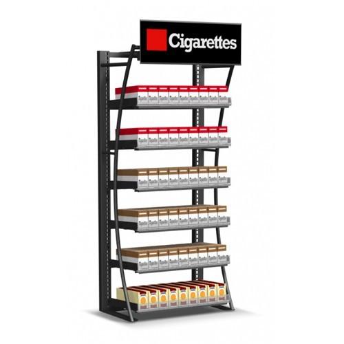 Quality Présentoir au détail de cigarette, vitrine de tenture de magasin de fumée for sale