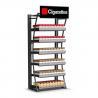 China Présentoir au détail de cigarette, vitrine de tenture de magasin de fumée wholesale