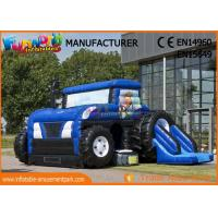 Buy cheap Commercial Party Jumping Castles With Prices / Inflatable Tractor Bounce House from wholesalers