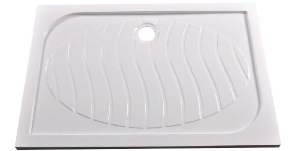 Quality Contemporary Flat Polymarble Shower Base Anti Slip Tray KPN1408-120 for sale