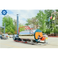 China Industrial 2ton 150hp Mobile Type Diesel Oil Fired Horizontal Steam Boiler For Greenhouse Mushroom Sterilizer wholesale